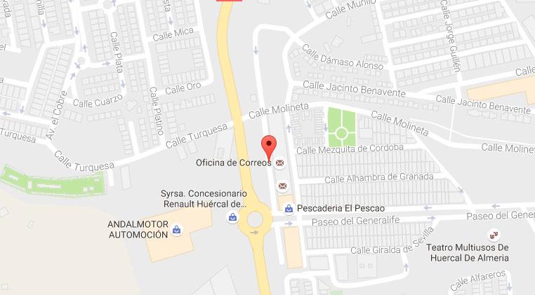 Mapa localización Singles Club
